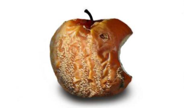 Fauler Apfel