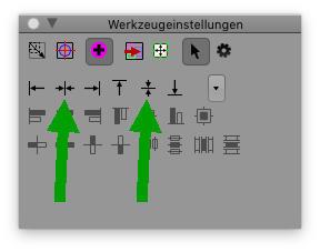 Screenshot PhotoLine Werkzeugeinstellungen